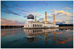 Before Sunset (Vin PSK) Tags: mosque malaysia sabah floatingmosque kotakinabaru citymosque mygearandme mygearandmepremium mygearandmebronze mygearandmesilver mygearandmegold mygearandmeplatinum