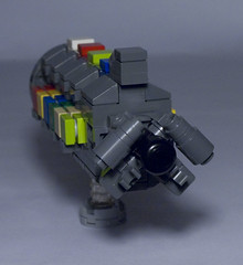 T9 Cargo Transport (brickmack) Tags: ship lego space cargo scifi spaceship moc microspace microscale