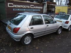 JANUARY 1994 FORD FIESTA 1299cc GHIA L322JOX (Midlands Vehicle Photographer.) Tags: ford fiesta january 1994 ghia 1299cc l322jox
