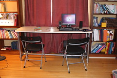 DIY Homeschool Double Desk