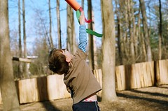 flight (damiec) Tags: film playground wind flight theboy film26 nikkormat windsock sooc fisforflight lomo800