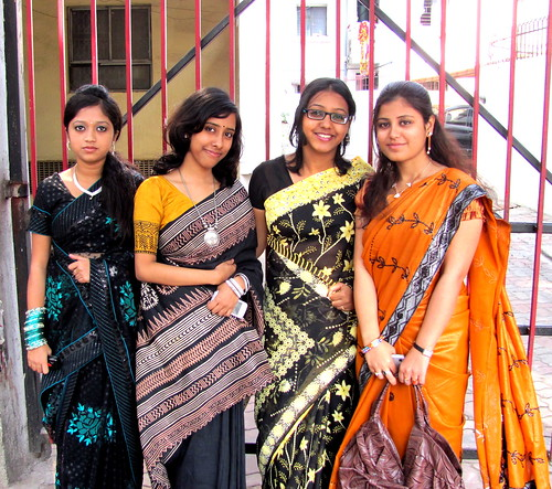 Ladies in Ethnic!