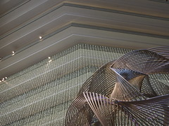 Hyatt Regency Embarcadero (davitydave) Tags: sf sanfrancisco california travel sculpture hotel design interior lobby embarcadero bayarea movieset accommodations sfist hyattregency sooc highanxiety