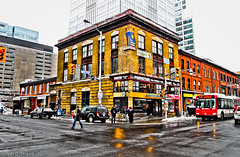 Bank & Slater Streets - Ottawa  01 12 (Mikey G Ottawa) Tags: street ontario canada color colour architecture contrast ottawa farbe couleur edit mikeygottawa adobephotoshoplightroom