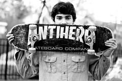 (maria alba) Tags: blackandwhite skateboarding nick skateboard skater skateboarder antihero mylacuna