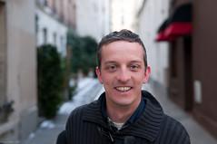 portrait job (Hugues Mitton) Tags: street portrait paris 100views rue homme
