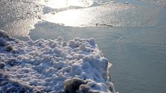 Gelo al lago - Frost on the lake (Ola55) Tags: winter italy lake snow ice clouds lago nuvole neve inverno umbria italians ghiaccio lagotrasimeno torricella the4elements mywinners aplusphoto worldtrekker ola55 100commentgroup