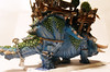 Stegadon Right Rear (Camper_Bob) Tags: miniature painted fantasy warhammer lizardmen