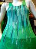 * serie pintados * musculosa (pléyades-ropa tejida) Tags: color thread shirt silk cotton seda ropa remera textil algodon pintado tejida musculosa pleyades