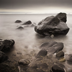Skagastrnd (Addi Viggs) Tags: longexposure sea beach home coast iceland hometown icelandic northcoast addi skagastrnd hnavatnsssla canonefs1785mmf456isusm hnafli canoneos500d 10stopbwndfilter leesoftgrad