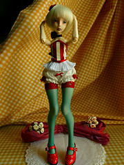 It's all about legs (Purple  Enma) Tags: party ball french maple doll dolls time tea handmade juice constantine bjd jointed lillycat cerisedoll