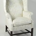 298. Fine Chippendale Style Crewel Work Wing Chair