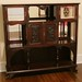 318. Transitional Aesthetic Period Mahogany Etagere