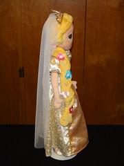 20'' Tangled Ever After Rapunzel Plush - Left Side View (drj1828) Tags: wedding bride doll plush after 20 ever rapunzel tangled