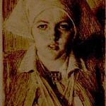 """<b>Gulli II</b><br/> Anders Zorn (1860-1920) """"Gulli II"""" Etching, 1918. LFAC #078<a href=""""http://farm8.static.flickr.com/7050/6926101889_23e408f8ce_o.jpg"""" title=""""High res"""">∝</a>"""