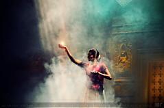 GODDESS (Arki Amit) Tags: fog dance nikon smoke performance dream dreamy utopia apsara kathak digitalcameraclub amitrastogi d5100 arkiamit nikond5100 amitrastogiphotography