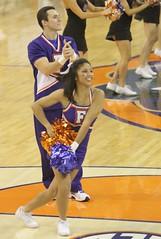 Gator Cheerleaders (dbadair) Tags: basketball war florida gators auburn sec eagles uf odome 2012