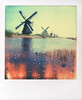 110408_MolensPX680aX (Dutch Design Photography) Tags: blue red sky holland color colour mill film water netherlands windmill dutch grass yellow analog landscape polaroid photography photo foto fotografie photographer nederland unesco instant breda mills enschede kinderdijk molen landschap windmolen mery molens fotograaf impossibleproject artstudio23 melanierijkers