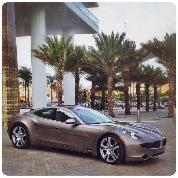 Got very lucky to capture FISKER KARMA EVer -this 200.000+ $ very complicated hybrid ,made in USA
