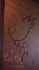 Neumos ghost (gumdrop98102) Tags: seattle streetart graffiti tagging hepc nbd caphill nwch yabutstill