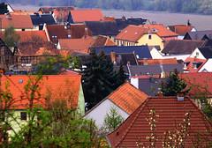Village Kunitz (:Linda:) Tags: roof germany town village jena thuringia dach dachziegel rooftile kunitz dachschindel