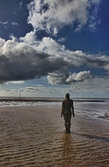 Another Place (Monki Photos) Tags: sculpture beach seaside crosby antonygormley anotherplace