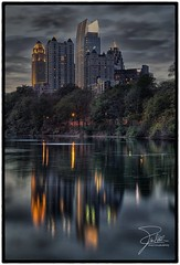 Atlanta Skyline (Frank Kehren) Tags: atlanta lake reflection skyline night canon dark georgia hotel moody unitedstates explore f11 piedmontpark hdr promenade2 24105 fourseasonshotel 1180peachtree canonef24105mmf4lis ef24105mmf4lisusm clarameer canoneos5dmarkii mayfairrenaissance mayfairtowercondominiums