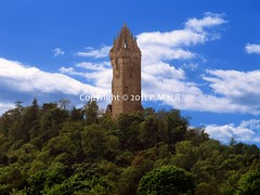 Wallace Monument Back/Side (PMacR) Tags: monument scotland scottish forth wallace wallacemonument