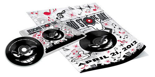 Sket One x Universal Records Sampler - Record Store Day 2012 Branding