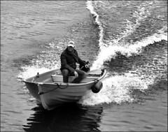Ghostship (Emil de Jong - Kijklens) Tags: boot ship zwartwit kanaal alkmaar noordhollands
