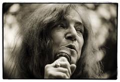 Patti Smith (oscarinn) Tags: portrait blackandwhite rock mexico mexicocity df retrato legend pattismith museofridakahlo blancynegro lastfm:event=3144037