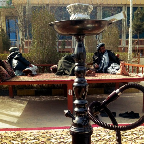 Afghan chilling