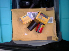 The kindness of Flickr friends (QsySue) Tags: film mail cellphonepic cellphonecamera flickrfriendsrule kindnessofstrangers lotuslgcellphone