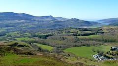 Looking South-West from Foel Offrwm, near Dolgellau