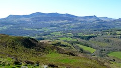 Looking South from Foel Offrwm, near Dolgellau