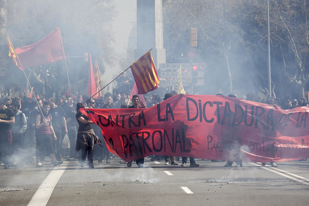 Image result for huelga vaga general catalunya
