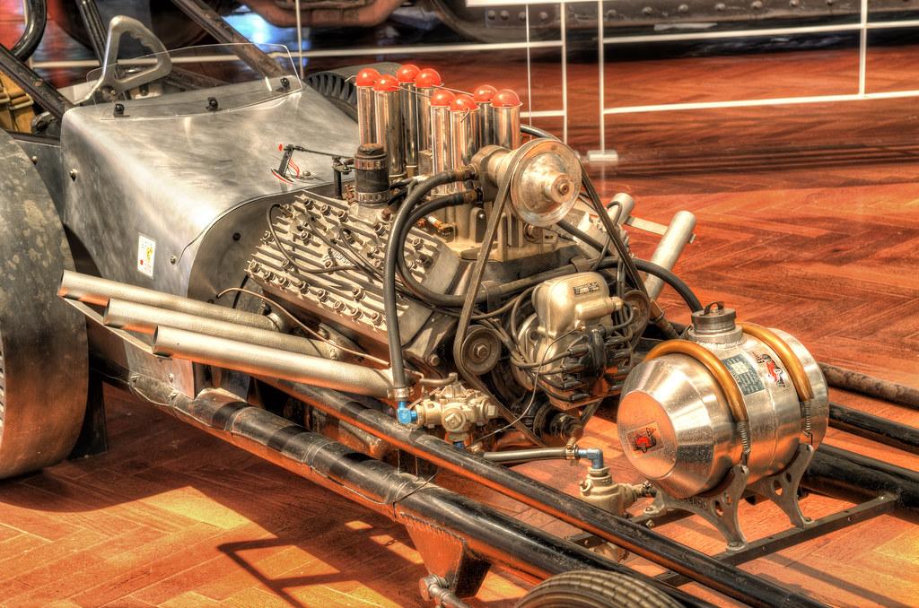 1960 Slingshot dragster in Henry Ford Museum