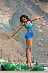 Superwoman (layepro) Tags: hot sexy art beautiful photography jump model women joy levitation bikini dakar manequin mamelles senegalese belya