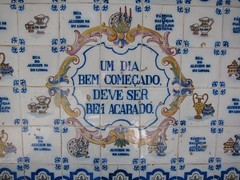 A day that begins well... (Bosc d'Anjou) Tags: portugal oeiras azulejos fbricadesantana