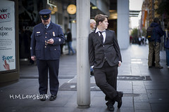 L1139374 (H.M.Lentalk) Tags: world street leica people army 50mm day oz navy australian australia noctilux ww1 aussie 50 asph anzac m9 f095 sydeny new air 095 zealand first noctiluxm force 2013 war 109550