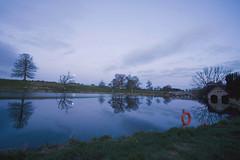 Full moon set @ Carton (Wendy:) Tags: bridge trees reflections river carton boathouse kildare fullmoonset ryewater
