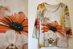 spring (Angela.B) Tags: flowers shirt spring jersey textil
