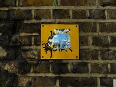 STAR Under the Bridge (J Mark Dodds [a shadow of my future self]) Tags: london poster graffiti shoppingcentre elephantcastle jmarkdodds dscf9143