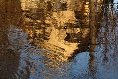 Watercolors (gripspix) Tags: reflection river photowalk fluss spiegelung neckar 20140315