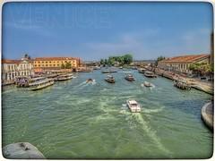 Venedig July 2013 (gerdpio) Tags: italien venice italy gondola venezia venedig rialto grandecanal wasserbus lagunenstadt uploaded:by=flickrmobile flickriosapp:filter=nofilter