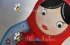 CENTRO DE MESA BALEIRO MATRIOSKA (BILUCA ATELIER) Tags: matrioska pinturacountry bonecarussa pinturaemmdf biluca matrioskademdf festamatrioska lembrancinhamatrioska centrodemesamatrioska baleiromatrioska