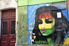visage de la forge royale, Paris 11 (Jeanne Menj) Tags: streetart urbanart visage paris11 forgeroyale