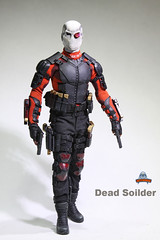 ART FIGURES AF-021 Dead Soilder - 014 (Lord Dragon ) Tags: hot toys actionfigure doll willsmith onesixthscale deadshot 16scale artfigures 12inscale