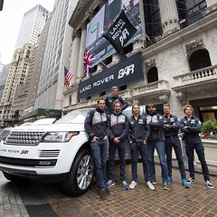 The @LandRoverBAR team announced their arrival on US shores by closing trading at the New York Stock Exchange on Wall Street today. #AmericasCup #Sailing #LandRoverBAR #LVACWSNY #WallStreet #NYSE - photo from landroverusa (landroverorlando) Tags: auto usa cars car orlando automobile florida united group rover land fields fl states autos landrover rangerover luxury automobiles wwwlandroverorlandocom