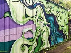 Smokescreen by Kango (wiredforlego) Tags: streetart color oregon portland graffiti mural urbanart pdx kango